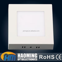 Excellent restaurant PC square shape shell 6W wall mounted led panel light