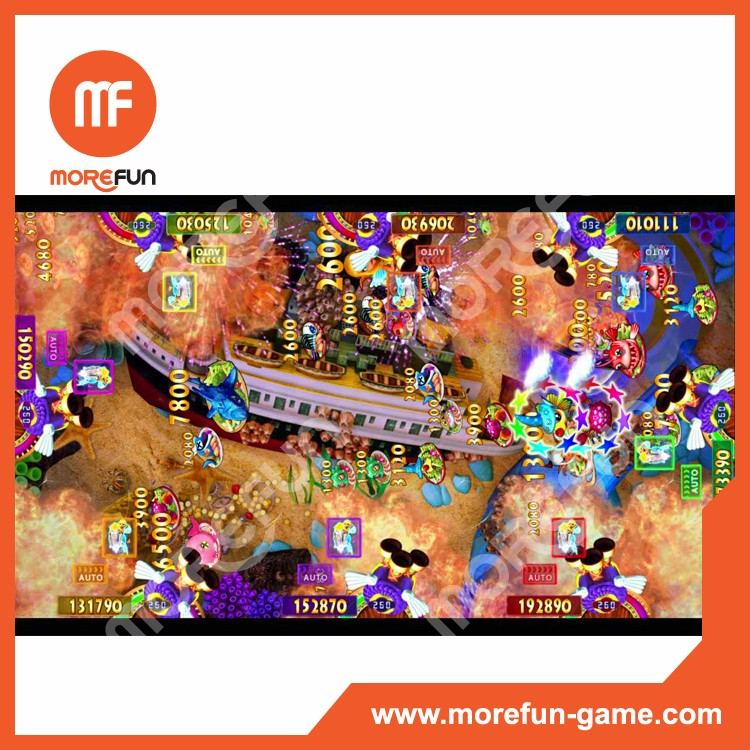 Fisherman club fishing table game machine software kits for How to play fish table game