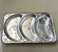 conveniental and environmental friendly croissant cooking aluminum foil tray