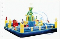 commercial inflatable play center for kids