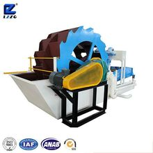 wheel type gravels collecting machine with dewatering screen from lzzg