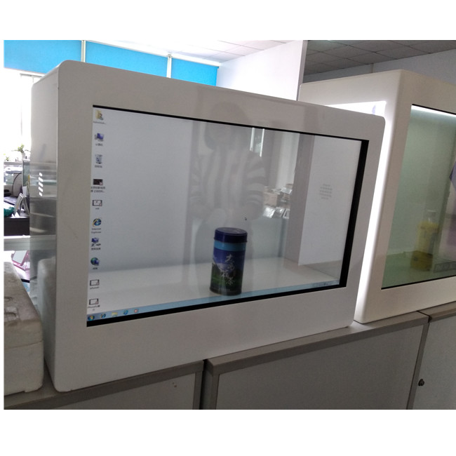 32 inch transparent lcd displays /show box /showcase with touch for product <strong>advertising</strong>