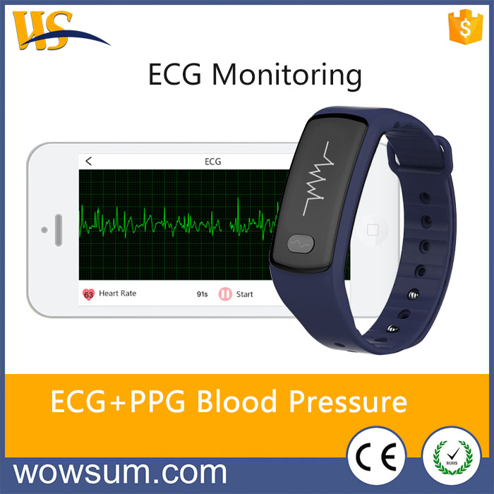 Brand New ECG Heart Rate Monitor Bluetooth Smart Bracelet