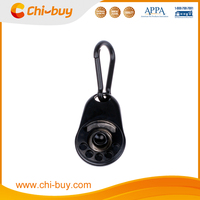 Black High Quality Plastic Pet Dog Clicker for Training Puppy Clicker