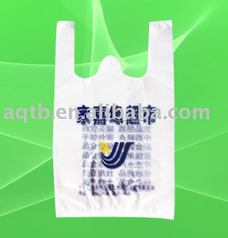 widely usage HDPE plastic laundry waistcoat bags