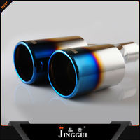 universal car exhaust muffler silencer tips