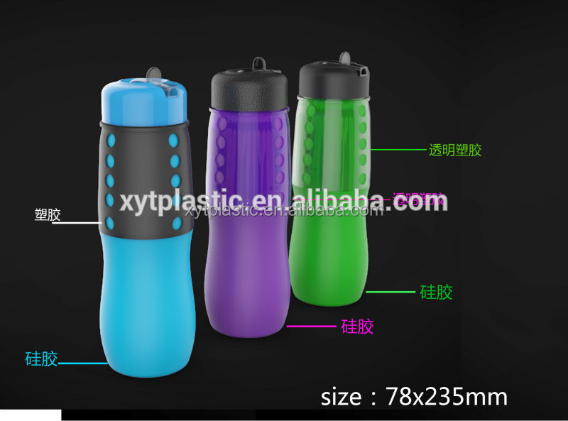 FDA BPA FREE Foldable Silicone Water Bottle