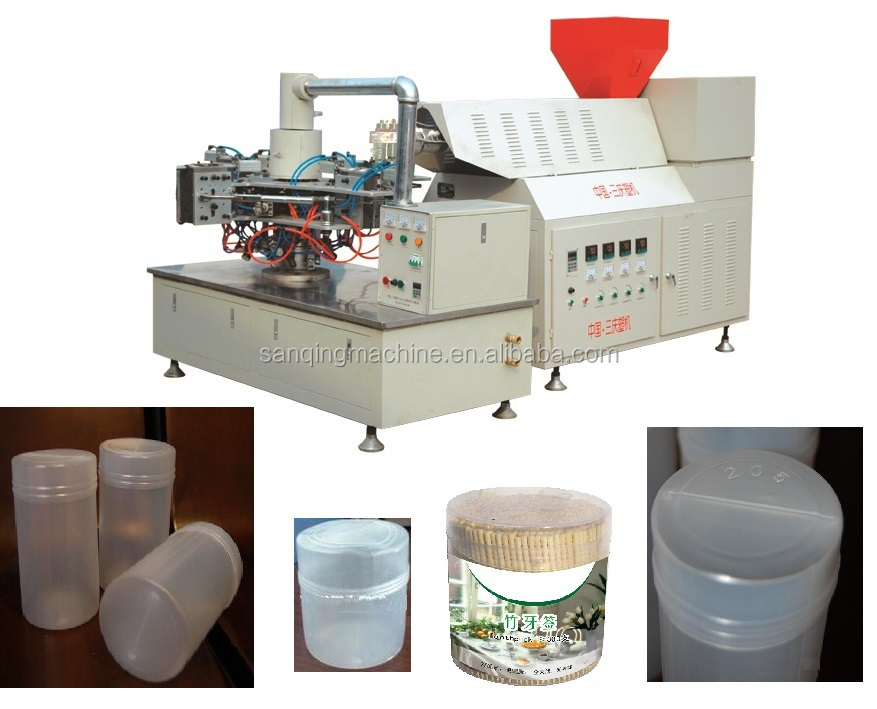 plastic LDPE toothpick container/bottle blowing mold machinery CE ISO