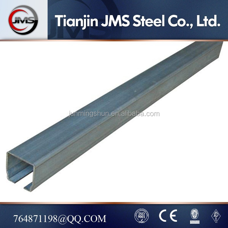 high quality c type channel steel / c purlin / c profile for light structure framework