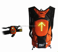 Indicate remotely controlled safety direction led light signal backpack YKBB050203