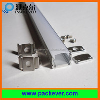 Diffuser cover U shape thin aluminum LED strip mounting channel