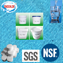 water treatment chemical chlorine 70% granular and tablet