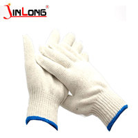 High Quality 10 Gauge Safety Cotton Knitted working gloves cheap work labor gloves