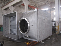 Stainless steel finned tube heat pipe heat exchanger