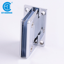 Square 90 Degree Brass glass shower door hinge