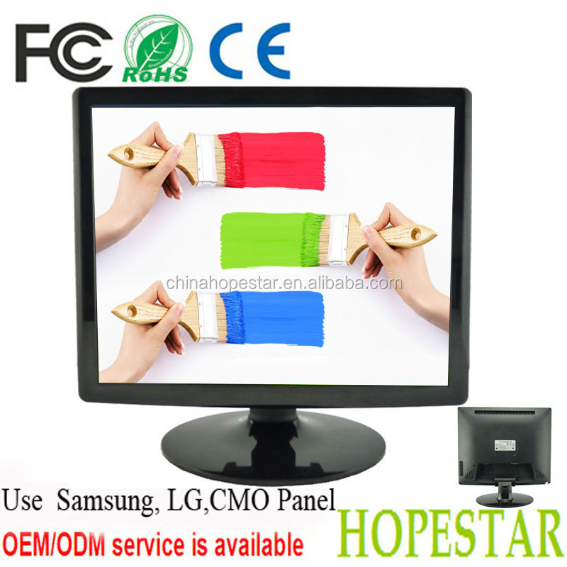 "17"" samsung/ lg lcd panel monitor with hdmi input"