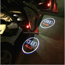 Car Door Projector Lights 2 Pcs Wireless Led Car Lights With Magnet Sensor Auto Courtesy Welcome Logo Shadow Lamp Battery Opera