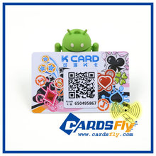 Custom design with PMS color for nfc visiting card
