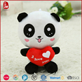 2016 China national treasure panda bright eyes stuffed animals for kids with BSCI/WC/SEDEX/Warmart