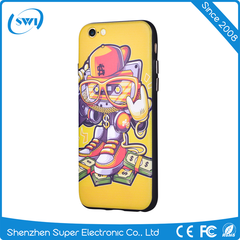 Popular customized print 3D sublimation OEM design your own cell phone case silicone products