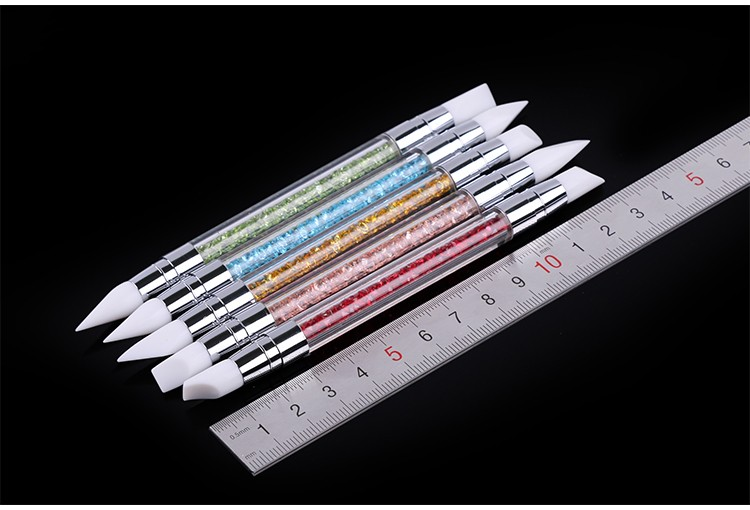 2016 profession 5PCS cheap and practical nail Soft Tips for Nail Art brush set
