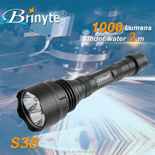 Brinyte S38 Rechargeable Aluminum Infrared LED Light