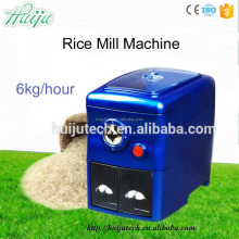 best price 6kg/hour small diesel engine rice milling machine HJ-P10