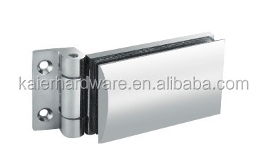 Hot sale camber glass clamp , shower hinge, double side crosswise single glass hinge, K-803