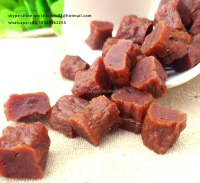 beef jerky series beef dice for pet snacks