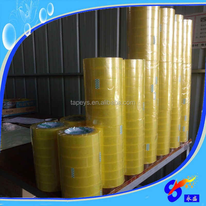 transparent food grade tin boxes sealing bopp tape