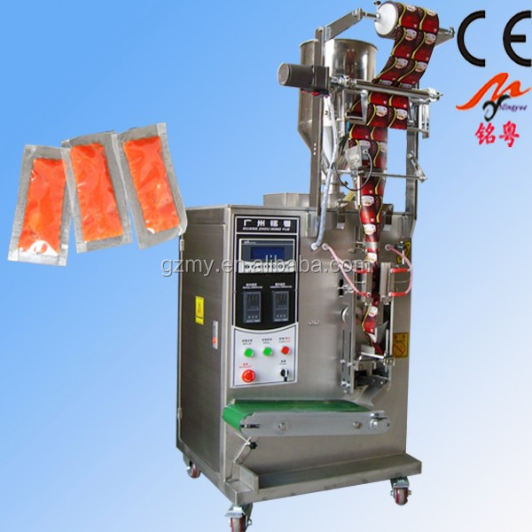 guangzhou filling machine for kethcup,tomato sauce,paste,juice,jam good price <strong>11</strong> years factory MY-60Y