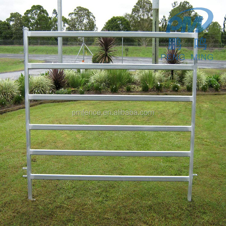 2017 best selling heavy duty horse fence panles /cattle corral panel metal fence panels