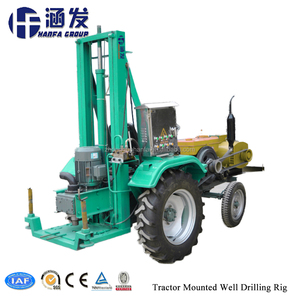 HF100T Hot Sale China Factory Tractor Mounted Used Borehole Water Drilling Machine Tools Prices