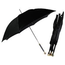 fashion Creative black skeleton Skull head umbrella