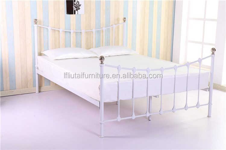 Cheap metal bed minimalist furniture wholesales