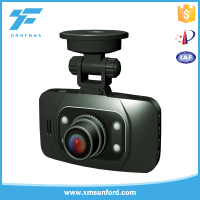 wide angel sd card double camera hd dvr/mini dual lens car dvr