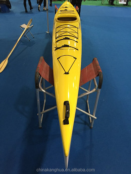 1-Seat Recreational Sea Kayak with rudder system