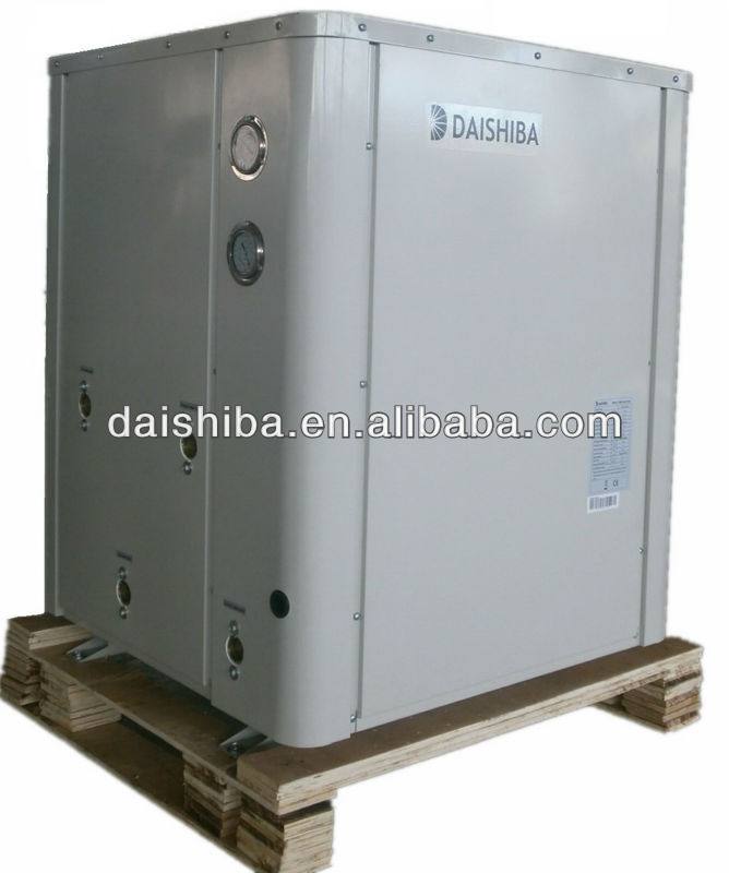 geothermal heat pump for hot water/ Ground water pump, floor heating,bath heater, R410A 6KW~35KW