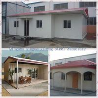 A frame modular homes