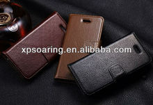 Wallet Genuine leather case for apple iphone 5C