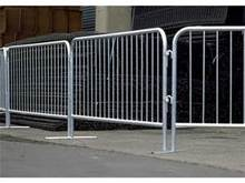 Hot Dipped Galvanized Pedestrian Safety Traffic Crowd Control Portable Metal Movable Barrier