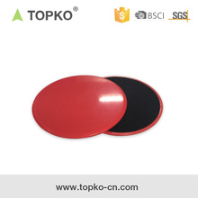 TOPKO Wholesale Hard floors Functional Workout AB Dual Sliding Core Gliding discs Sliders