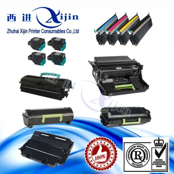 High quality!Compatible Lexmark toner cartridge mx310 for Lexmark toner cartridge