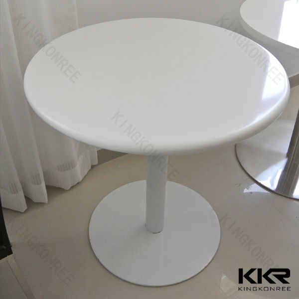 kingkonree solid surface acrylic restaurant round table top