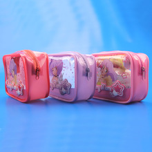 PVC Cosmetic Pouch / Newest Cute Beauty Pouch / Practical Cute Pouch Bag for Travelling