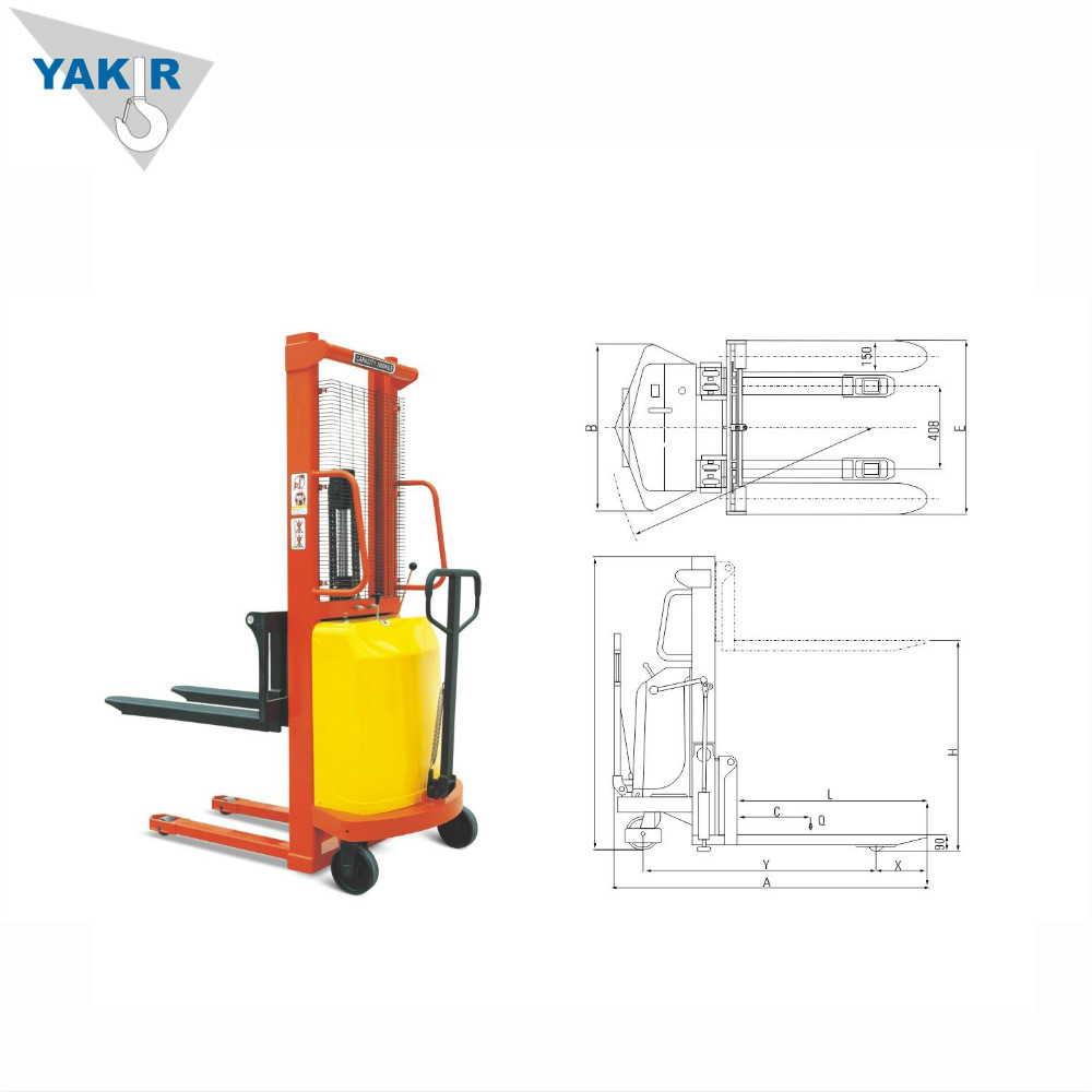 China 3 Ton Pallet Stacker Manufacturers Toyota Forklift Hydraulic Diagram And Suppliers On Alibabacom