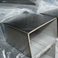 stainless steel pipe rectangular pipe welded pipe