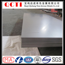 polished and annealed Grade 5 (Ti-6Al-4V) Titanium alloy plate/sheet