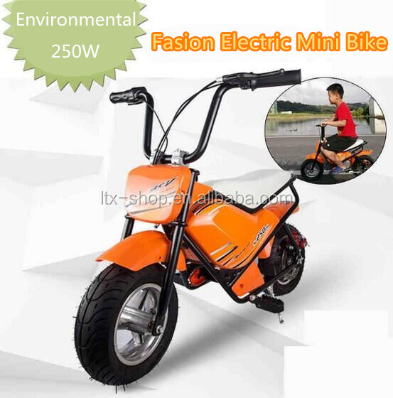 Hot-selling 250W Electric Mini Bike For Kids Cool Colorful High Quality Electric Chopper Motorcycle Mini Dirt Bike