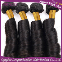 New Products high quality virgin remy indian romance curl hair weave